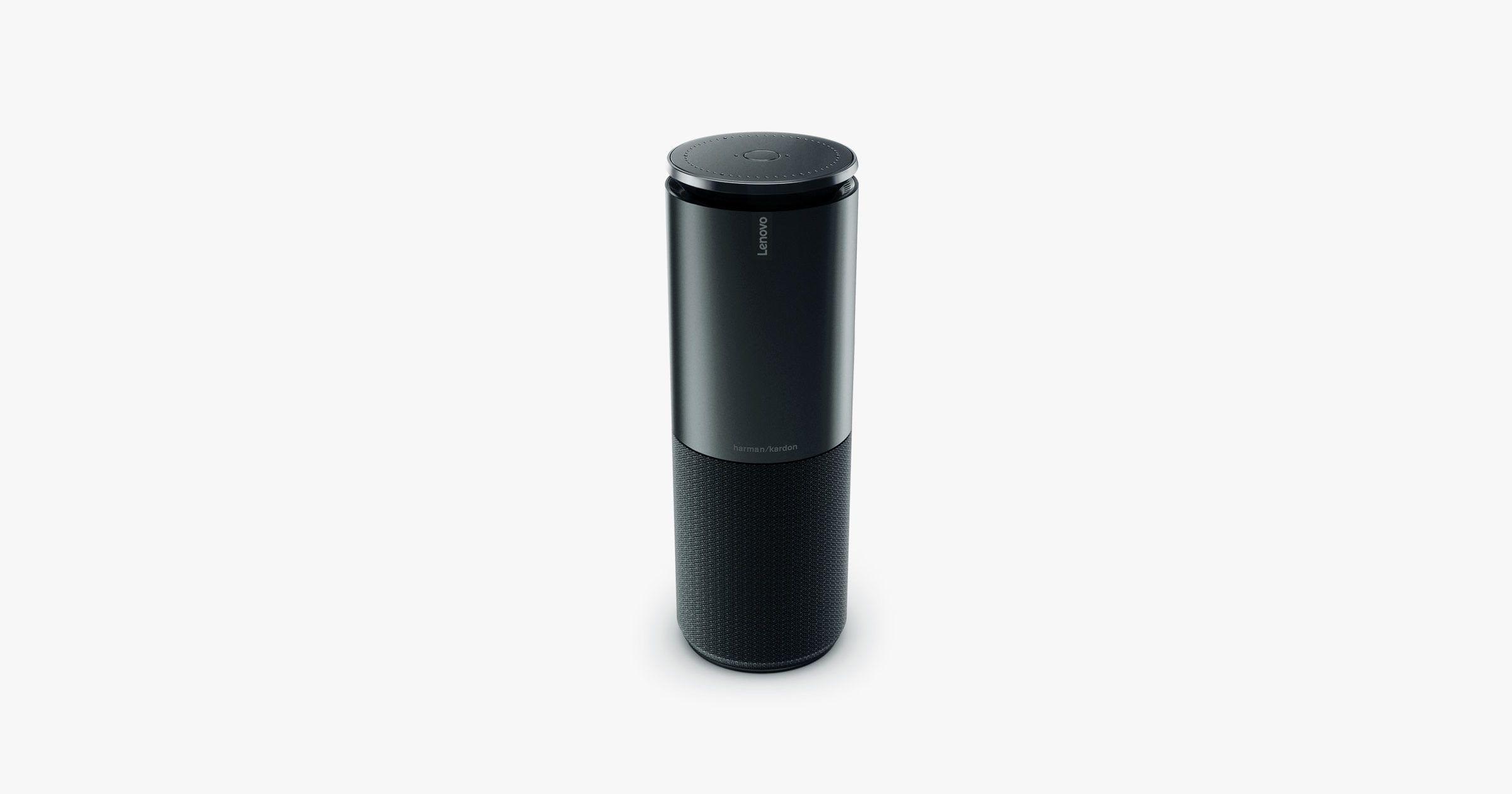 Lenovo S Smart Speaker Marries Up Alexa Smarts And Harman Kardon Sounds Wired Harman Kardon Smart Speaker Alexa