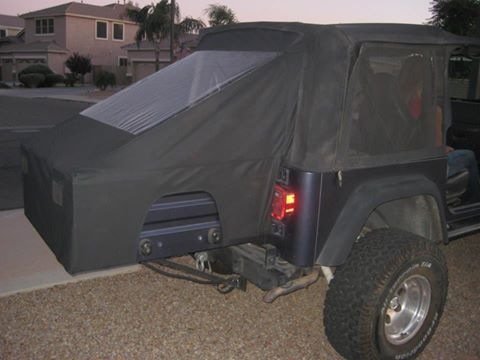 Sleep In A Jeep With Sotf Top Cover Jeep Wrangler Camping Jeep Tj Jeep Wrangler Diy