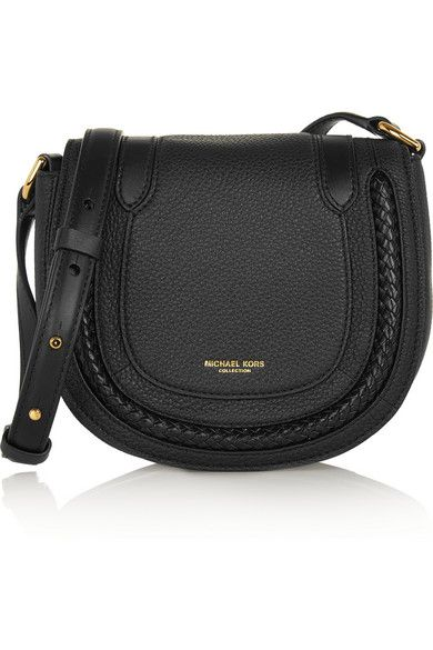 9c65e106711132 Michael Kors Collection | Skorpios small textured-leather shoulder bag |  NET-A-PORTER.COM