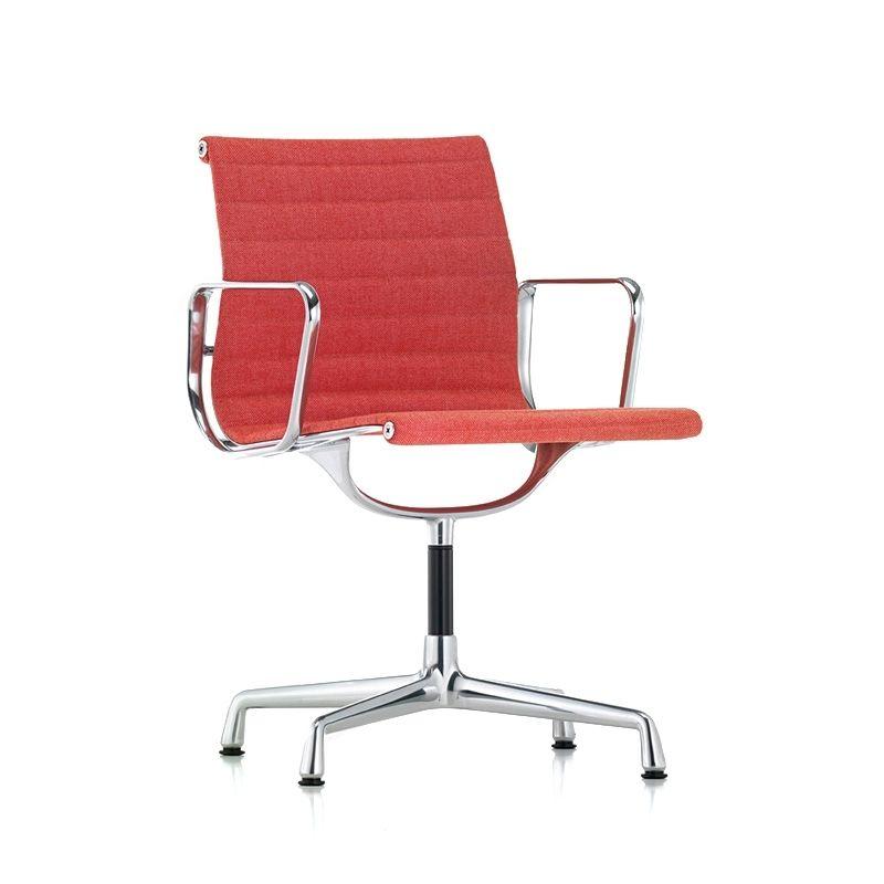 Fauteuil De Bureau Aluminium Chair Ea 104 Pivotant Vitra Silvera Eshop Fauteuil Bureau Eames Chaise Bureau