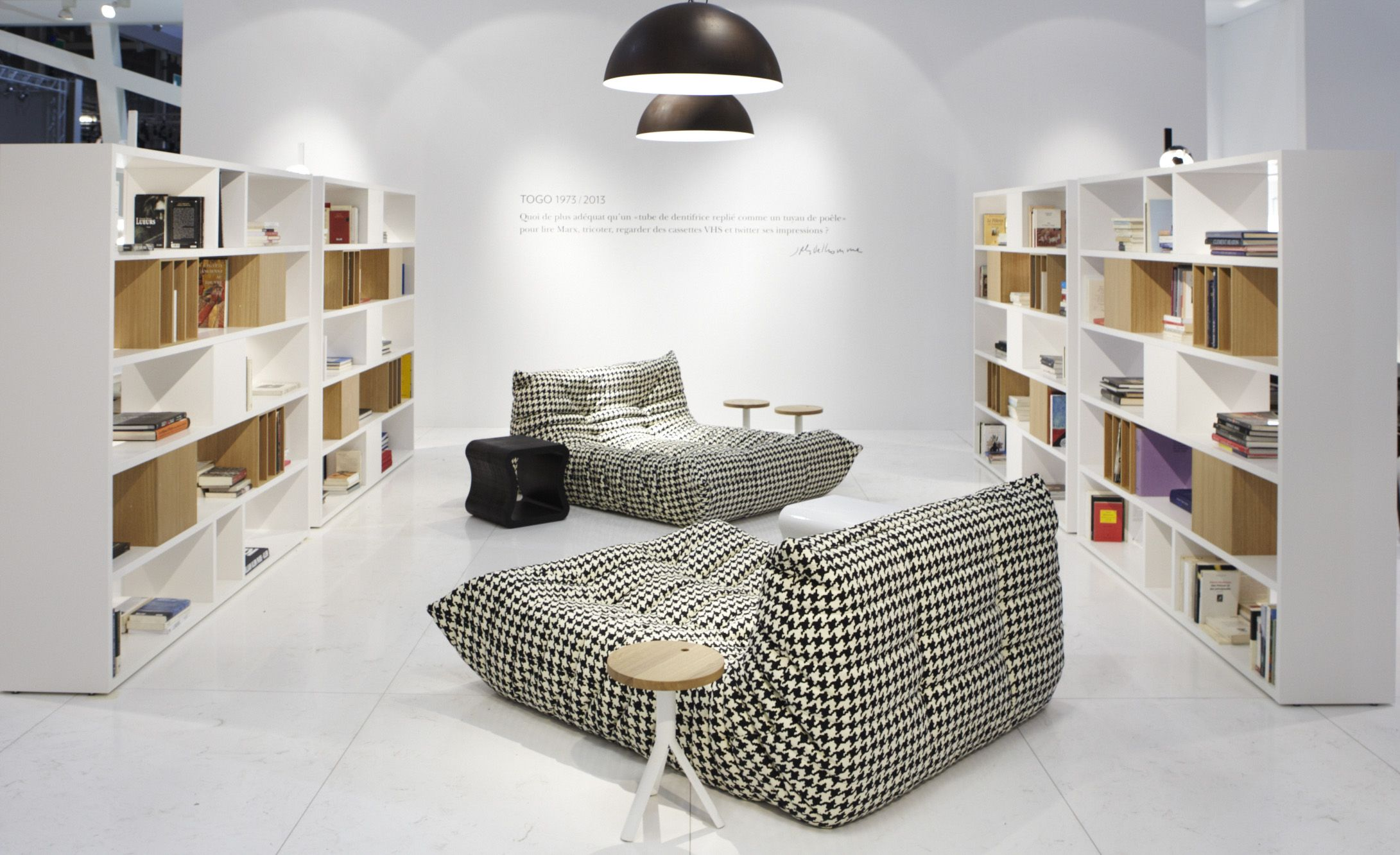 ligne roset introducing its new products imm cologne and maison objet paris 2013 living. Black Bedroom Furniture Sets. Home Design Ideas