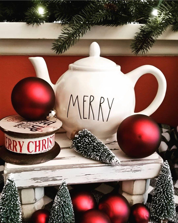 Merry tea pot Christmas pots, Christmas tea, Christmas