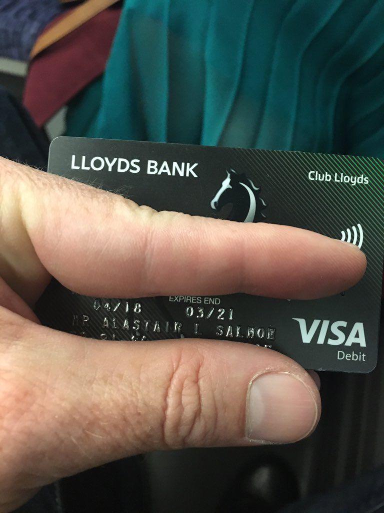 Pin By Wallmedia On Cards Ideas Debit Card Lloyds Bank Debit