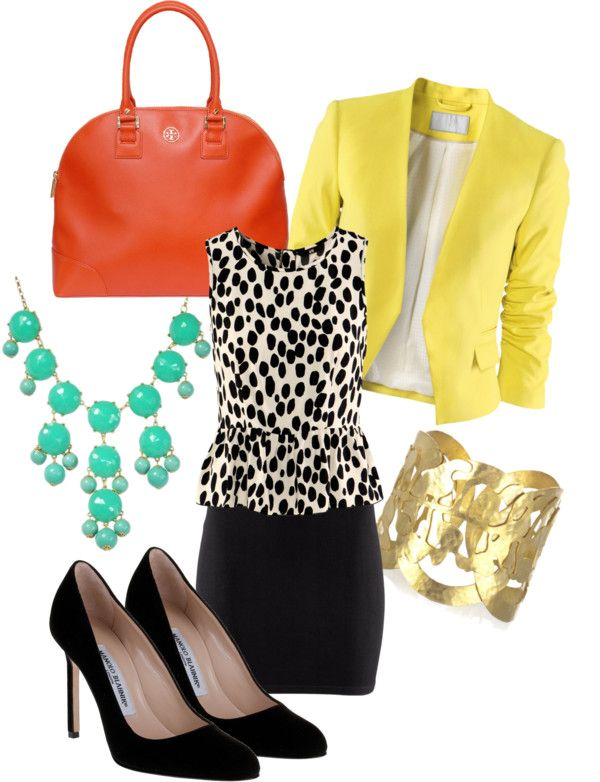 """""""Fun & Classic Work Wear"""" by sozer2011 on Polyvore"""