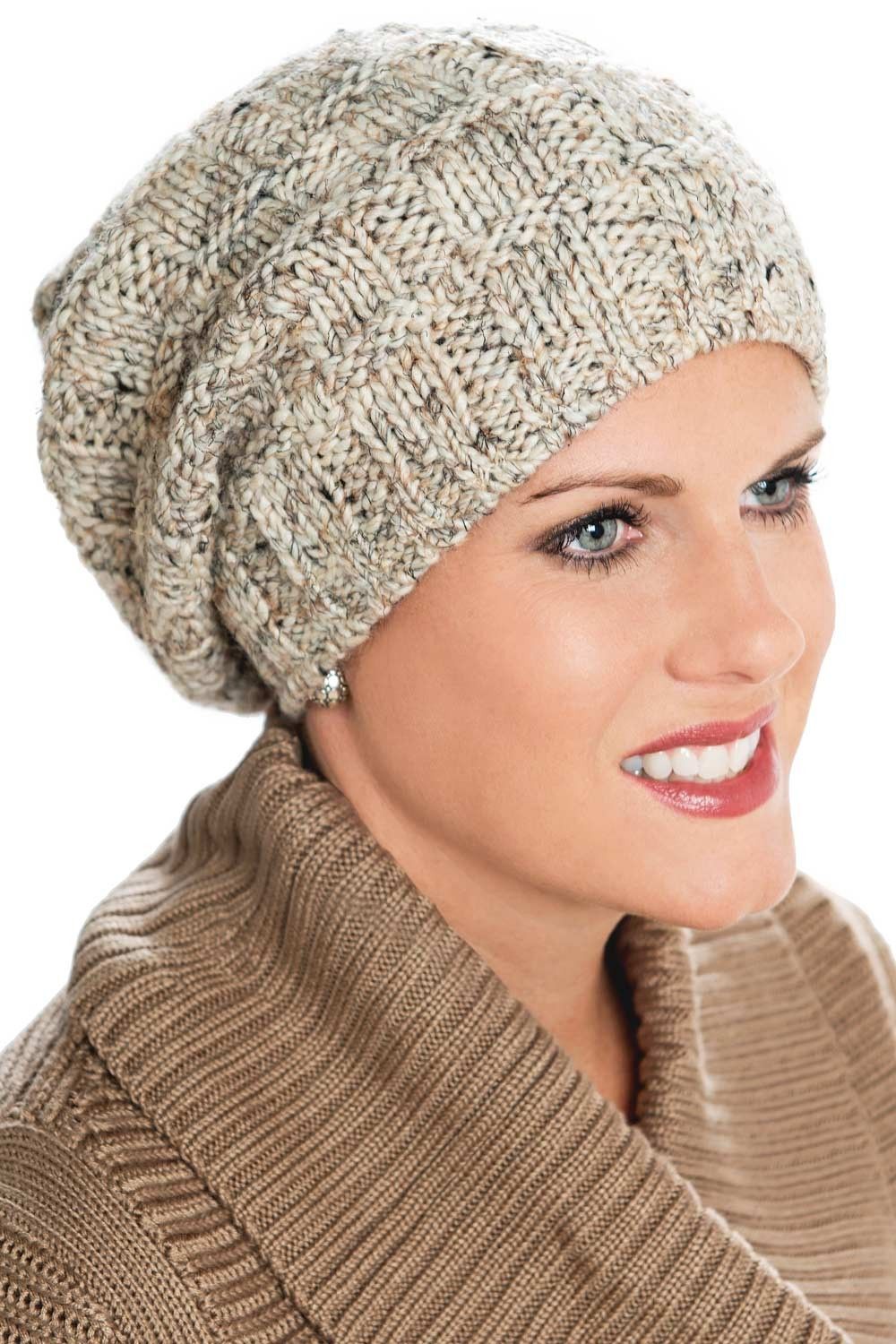 fc8865304fa A fleece lined band around the bottom interior of the hat makes it a great  choice for keeping the ears warm. Our Isla Slouchy Beanie cap provides a  relaxed ...