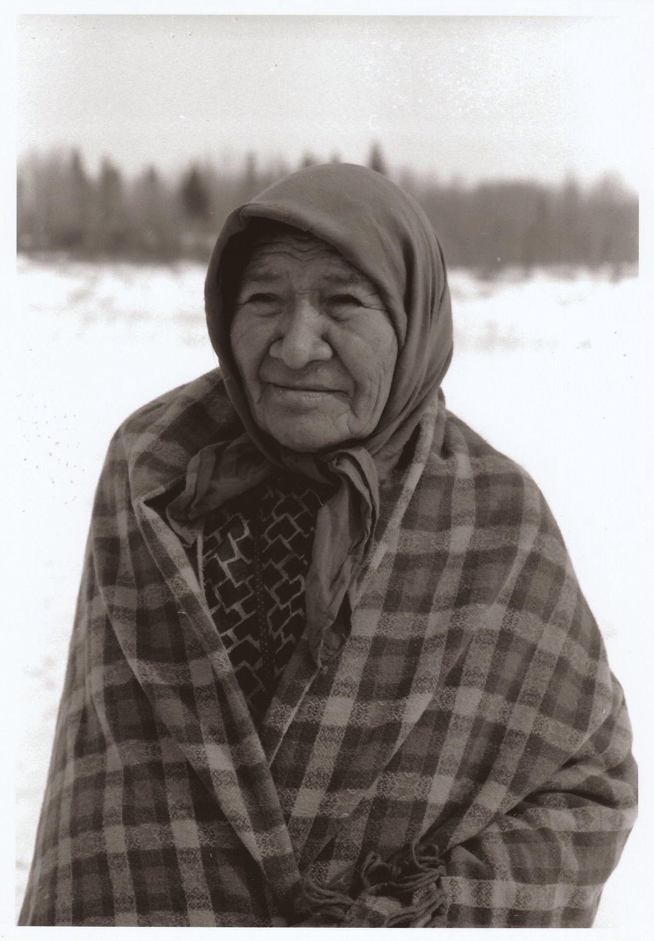 assiniboine stoney nakota first nations woman at paul first