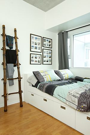 The Bedroom Features A More Modern Minimalist Look Its Existing