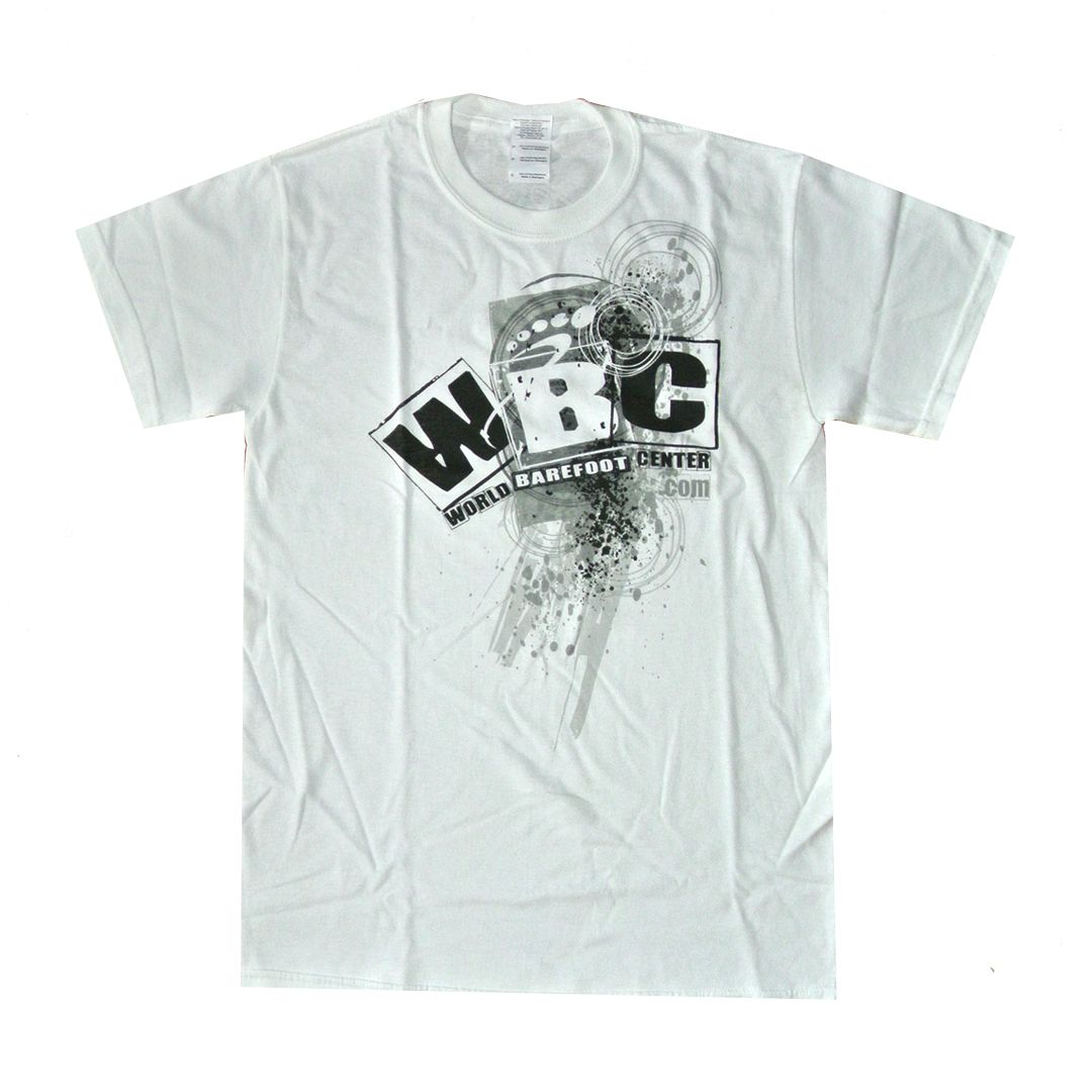 Clearance 15 00 Wbc Splatter T Shirt White World Barefoot
