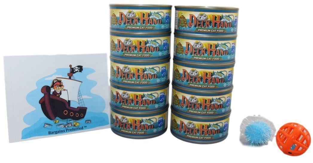 Deckhand premium tuna premium wet cat canned food 10 5 oz