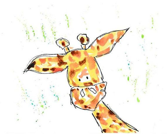 Everyone Loves A Giraffe By Katherine Parker On Etsy Etsy Treasuries Giraffe Etsy
