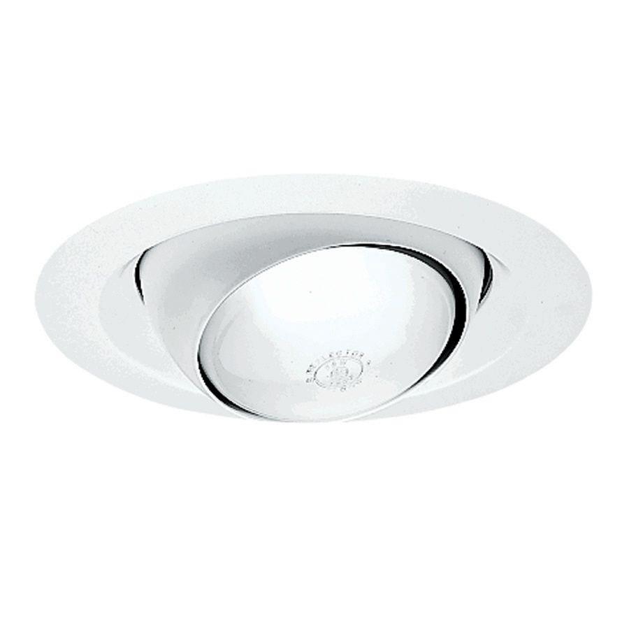 Juno white eyeball recessed light trim fits housing diameter 6 in juno white eyeball recessed light trim fits housing diameter 6 in aloadofball Choice Image