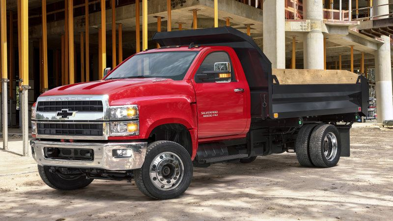 Chevy Silverado 4500hd 5500hd And 6500hd Revealed Medium Duty
