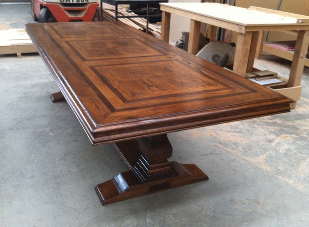 Bespoke Parquetry Dining Table