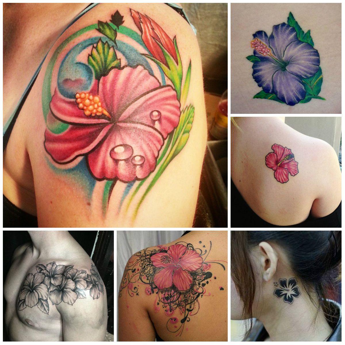 Flower tattoos fashion pinterest flower tattoos hibiscus flower tattoos izmirmasajfo Images