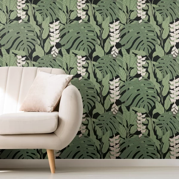 Finlayson Bunaken 18 86 L X 18 W Smooth Peel And Stick Wallpaper Roll In 2021 Peel And Stick Wallpaper Wallpaper Roll Simple Wallpapers