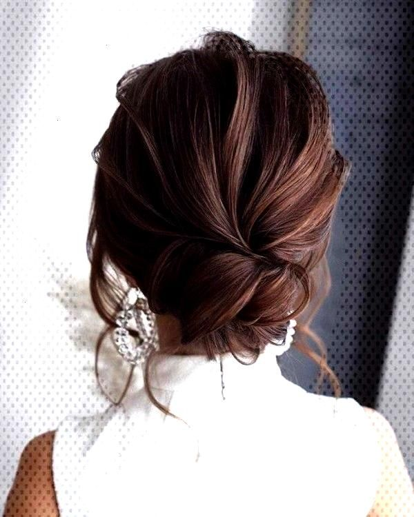 18 Trending Messy Updos Wedding Hairstyles You'll Love - Oh Best Day Ever pretty bridal hairstyle