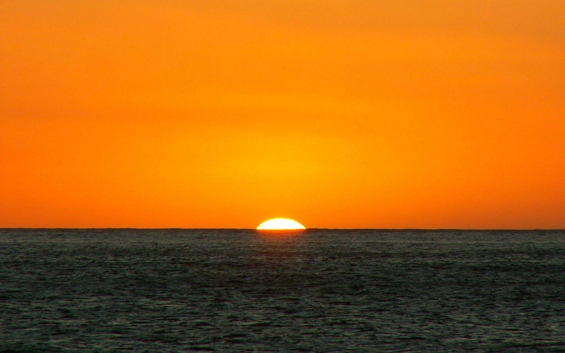 End Summer Orange Black Sunset Sunshine Ocean Beach Yellow Seamwater Days Desktop Backgrounds Sunsets End Summer Oran Sunset Sunset Landscape Sunset Pictures