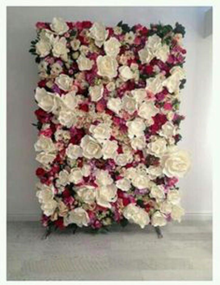 diy flower wall background