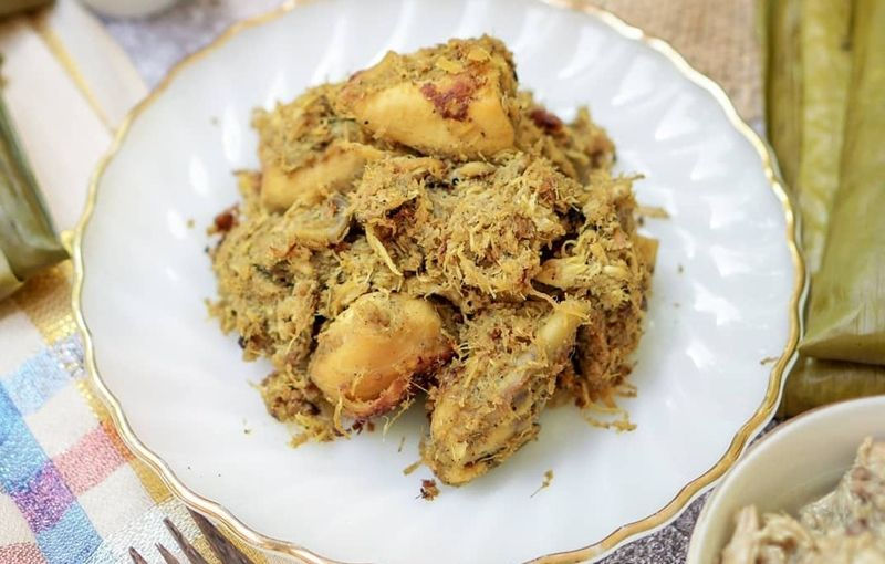 Nasu Likku Khas Makassar Sulawesi Selatan Makanan Beautiful