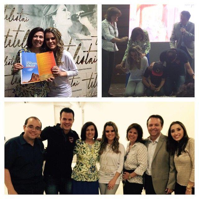 Ontem à noite a turnê do #DVD #Tetelestai em #Goiânia foi maravilhosa! A Ap #Valnice veio assistir e me presenteou com seu novo livro sobre as Terras Bíblicas, e que fala sobre a #Jordânia! Essa profetiza sempre abrindo o caminho para que eu possa aprender com ela! Obrigada queridos #ApCesarAugusto e #BpaRubia #BpoFábio e #BpaPriscila e toda a igreja #FonteDaVida pelo amor com que nos receberam!