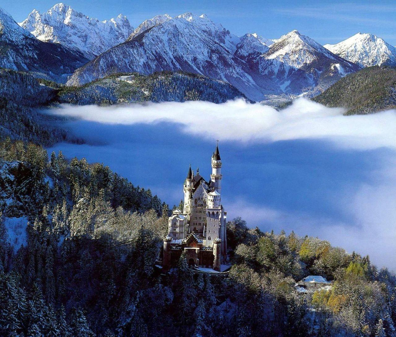 Tales Of Faerie Neuschwanstein Fairy Tale Castle Germany Castles Neuschwanstein Castle Fairytale Castle