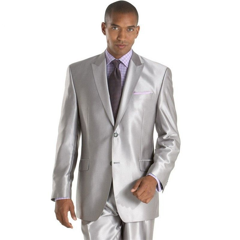 Popular Silver Silk Suit-Buy Cheap Silver Silk Suit lots from ...