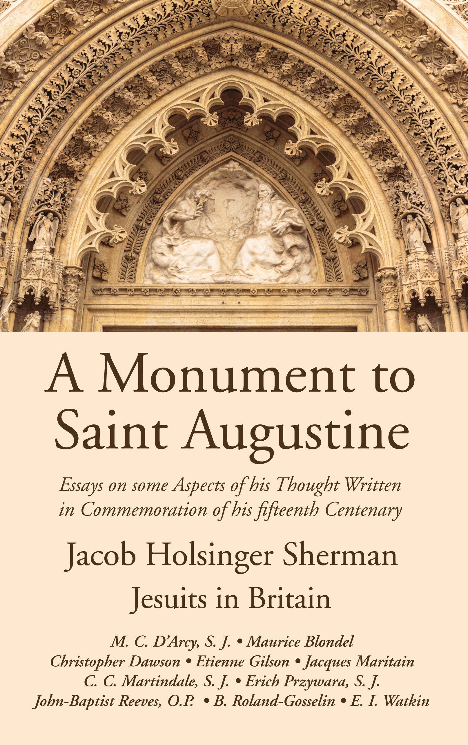 A Monument To Saint Augustine Wipfandstock Com Essay Social Influence Problem Of Evil The Renaissance