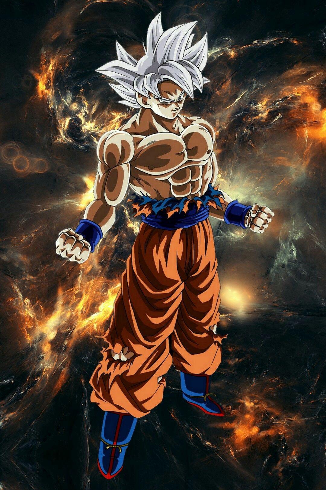 Goku mastered ultra instinct db dragon ball gt dragon y goku - Imagenes de dragon ball super ultra instinto ...