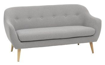 Sohva 2,5 hengen EGEDAL vaaleanharmaa | JYSK