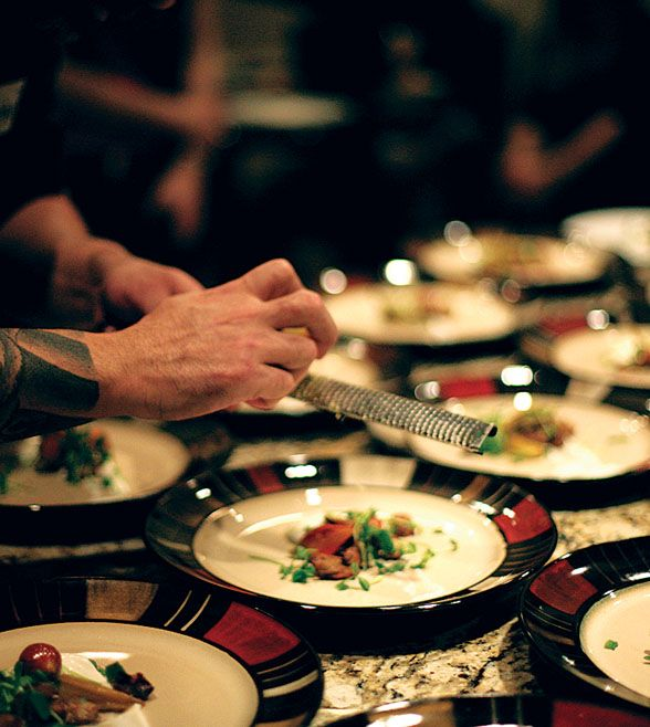 Created by Ahrif Sarumi, ACES OF TASTE is an interactive dinner series featuring veteran and emerging chefs throughout Houston---> http://localhoustonmagazine.com/aces-taste/#