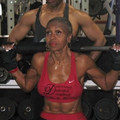 Ernestine Shepard - 70+ years old    Black Women