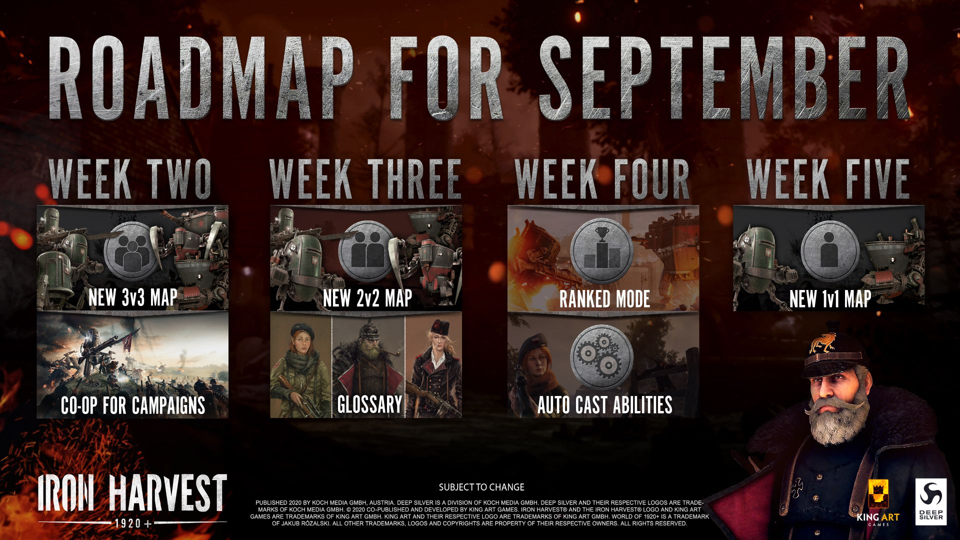 Iron Harvest Is Getting Campaign Co Op Ranked Mode And New Maps This Month Company Of Heroes Campaign Map