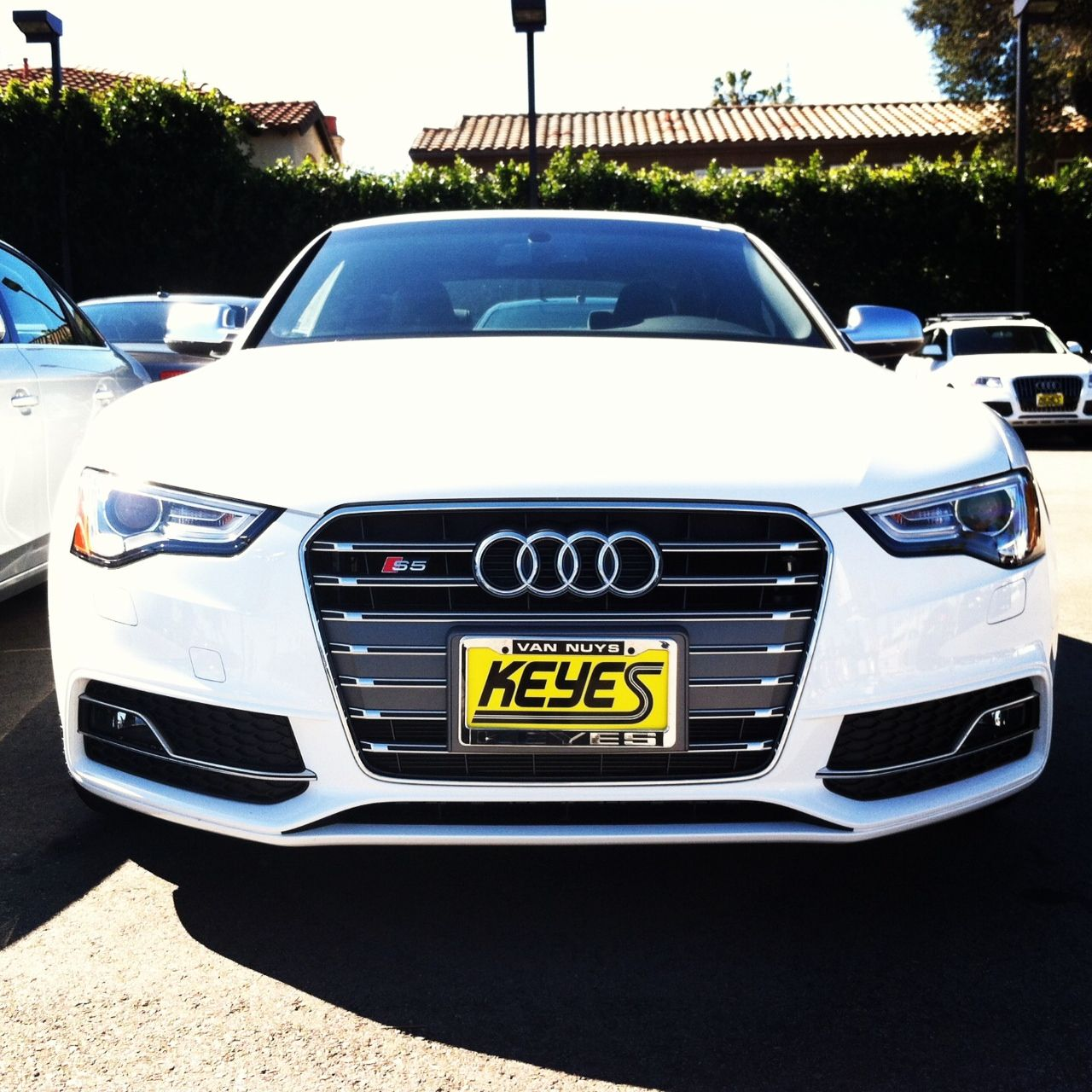 The New Face Of Aggression = 2013 Audi S5. @keyesaudi
