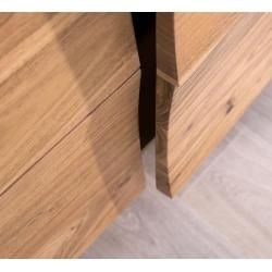 Photo of Delife Design-Sideboard Wyatt 177 cm Akazie Natur 2 Türen, Sideboards DeLife