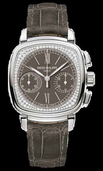 b7b5ecf1144 7071G-010 Patek Philippe Complications Womens 18K White Gold Watch ...