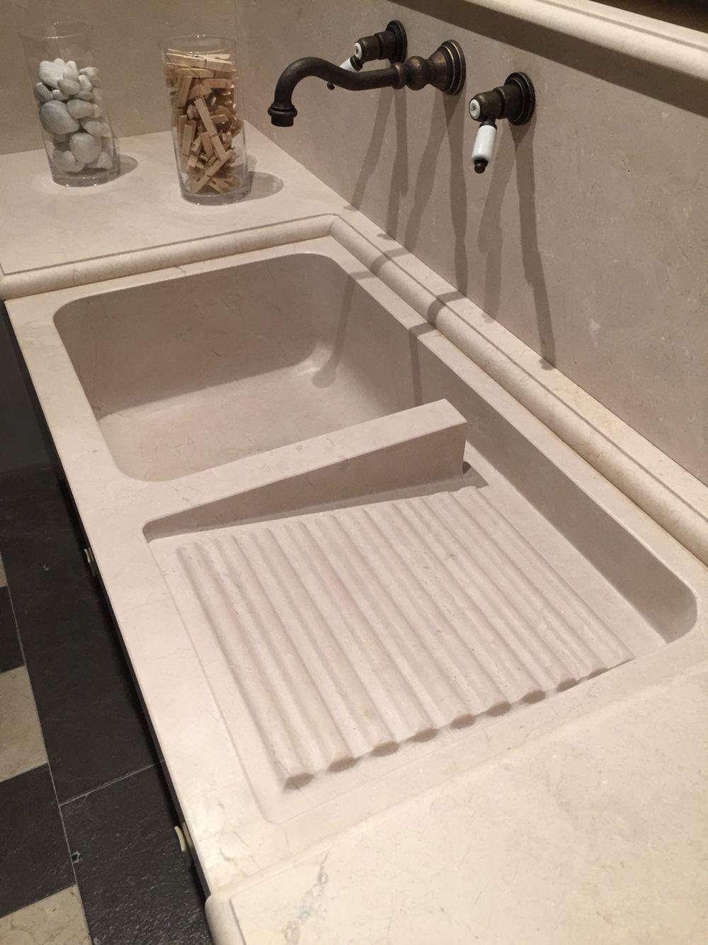 Lavadero En Marmol Crema Lavadero Pinterest Lavaderos ~ Como Limpiar El Marmol Para Que Brille