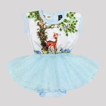 Deer Thing Baby Circus Dress