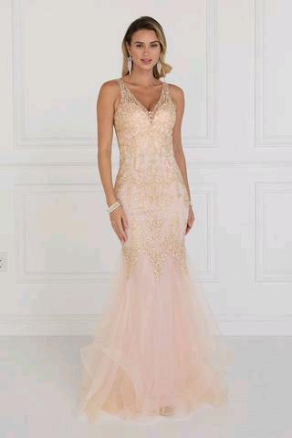0aee8f7b8eb2 Pink mermaid lace prom dress GLS 1518P | Red Carpet ☆ | Pinterest ...