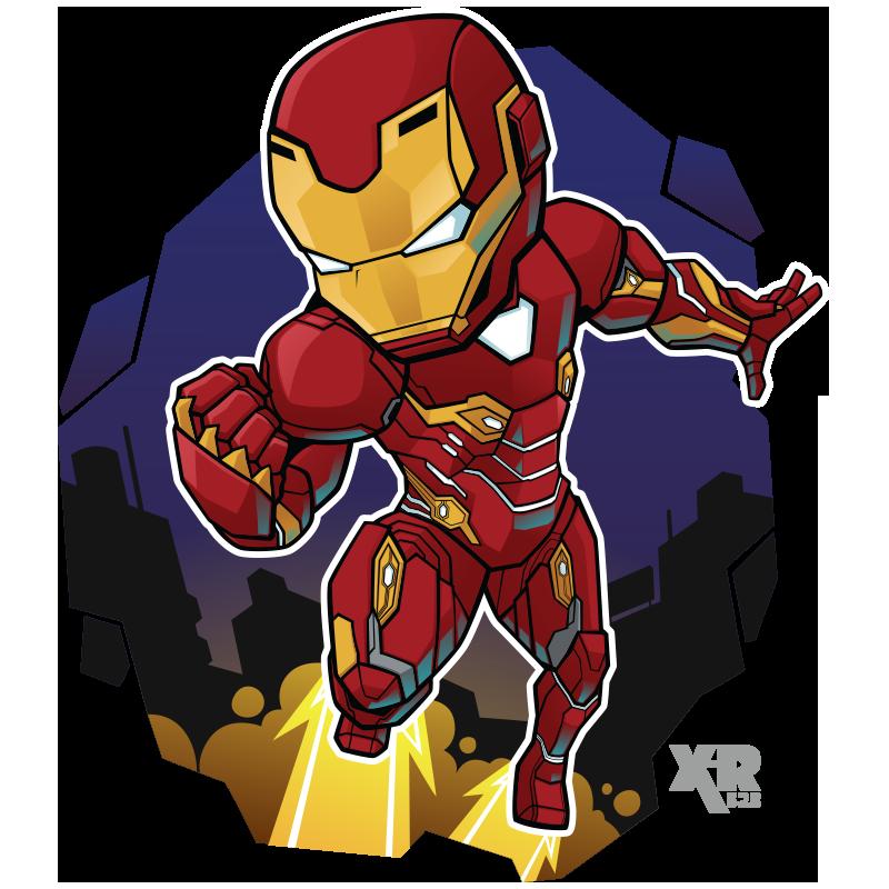 Fa Ironman Infinity War By Xar623 Chibi Marvel Marvel Cartoons Iron Man
