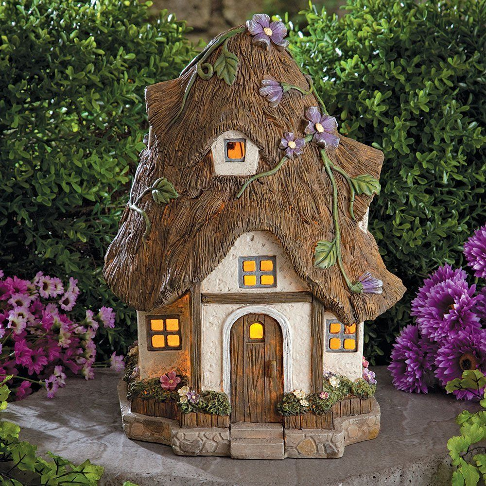 Bits and Pieces - Solar Fairy Cottage - Make Your Magical Fairy ...
