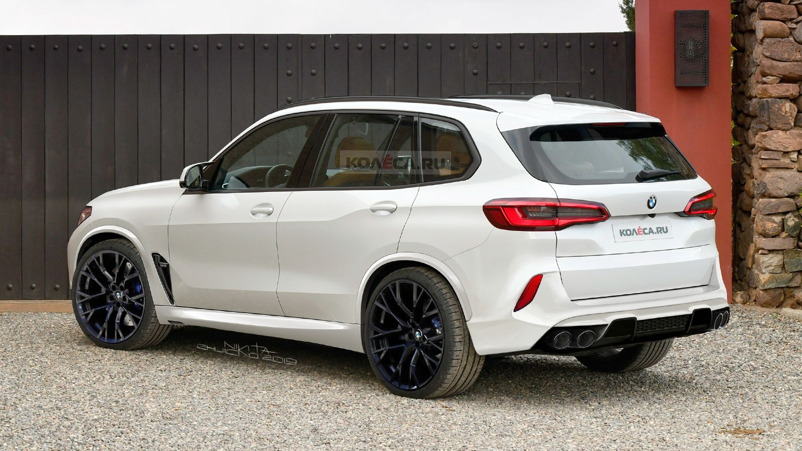 Bmw F95 X5 M Gets Teased Through New Renderings Bmw X5 M Bmw