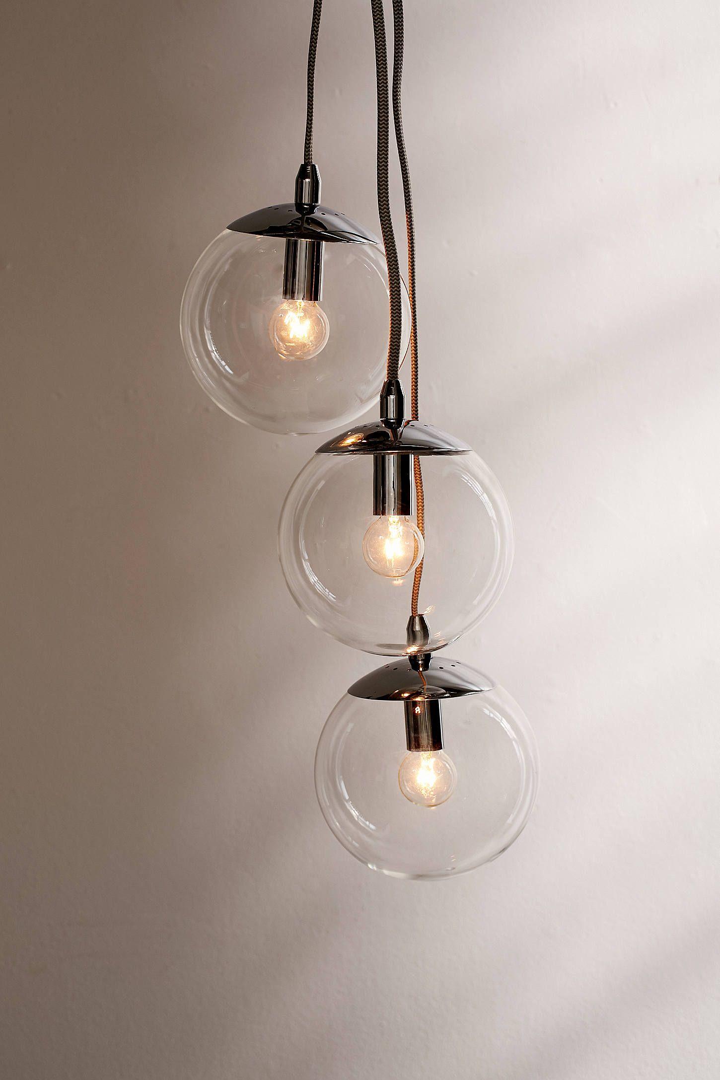 globe pendant lighting. Slide View: 1: Cluster Globe Pendant Light Lighting