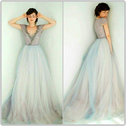 By Carousel Fashion on Etsy.com    https://www.etsy.com/listing/244273058/tulle-wedding-gown-lavanda-limited?ref=hp_mod_nifyfs