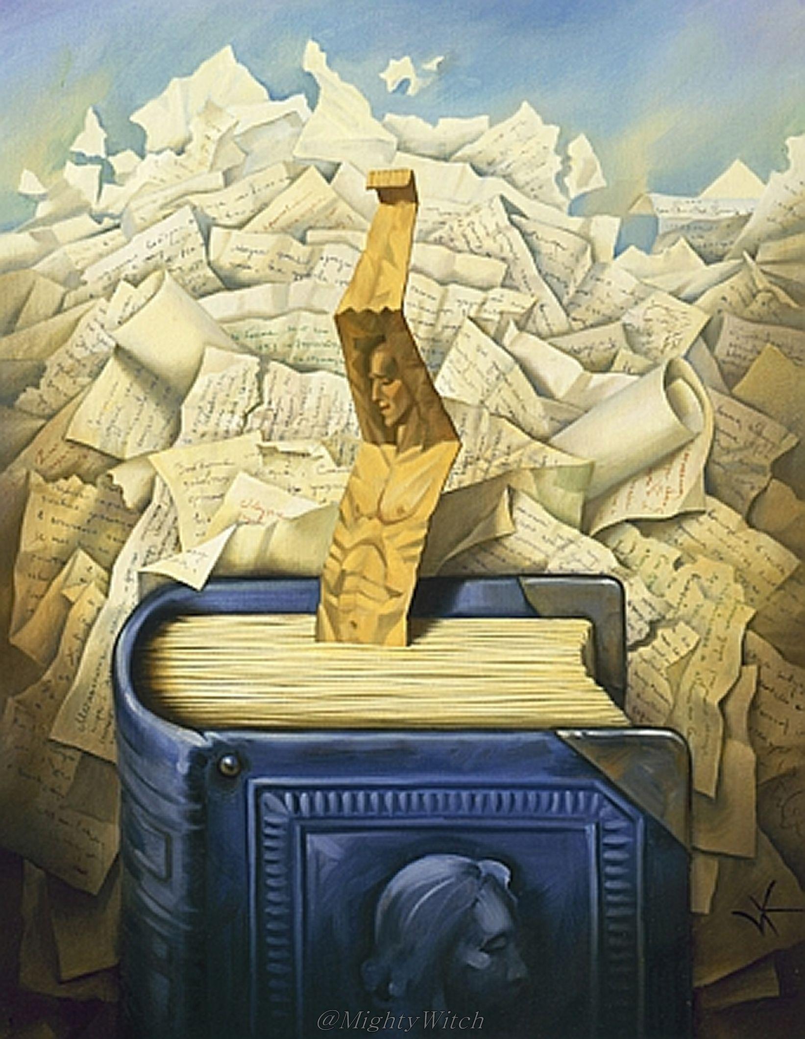 Vladimir Kush. Artist Kush Vladmir Surreal Art