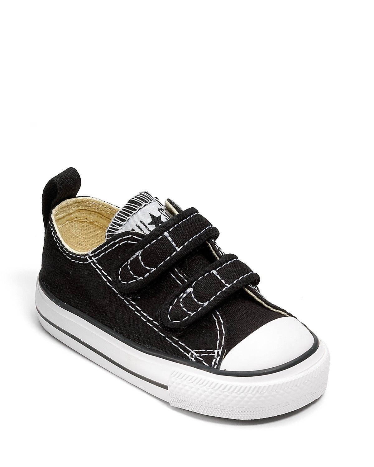 6bafe2f531a2 Converse Unisex Chuck Taylor All Star Double Velcro Strap Sneaker - Baby