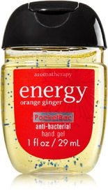 Energy Orange Ginger Pocketbac Sanitizing Hand Gel Soap