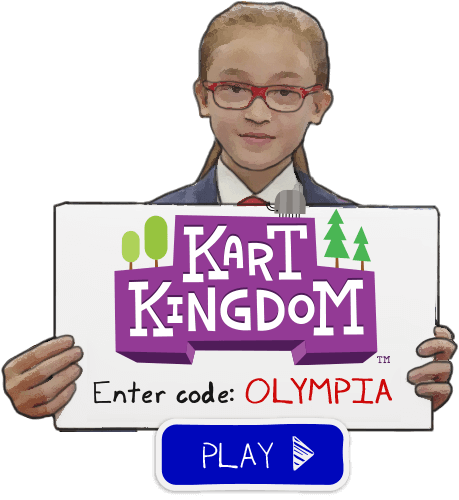 Enter Secret Code Olympia In Kart Kingdom Now Odd Squad Ftw