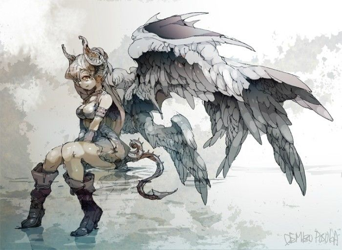 I Really Like Wings Characters Design Refs Anime Art