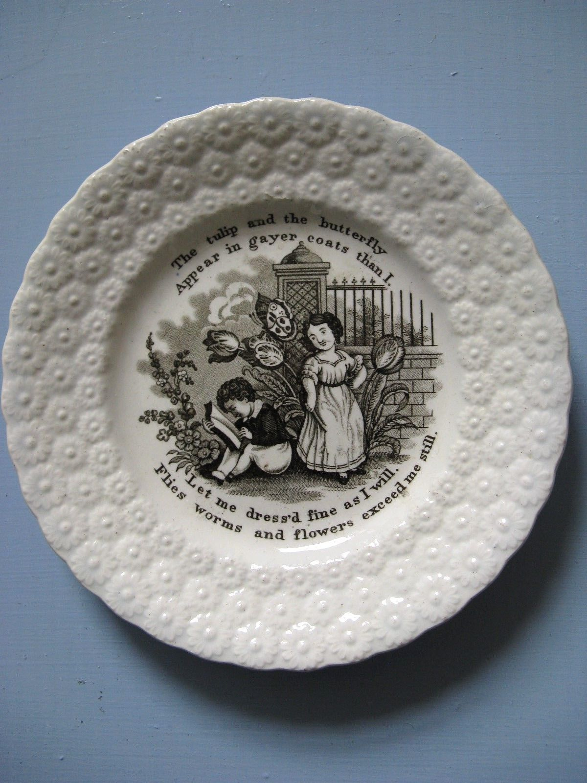 Childrens pottery plates x 3 Victorian C1850 | eBay & Childrens pottery plates x 3 Victorian C1850 | eBay | Victorian ...