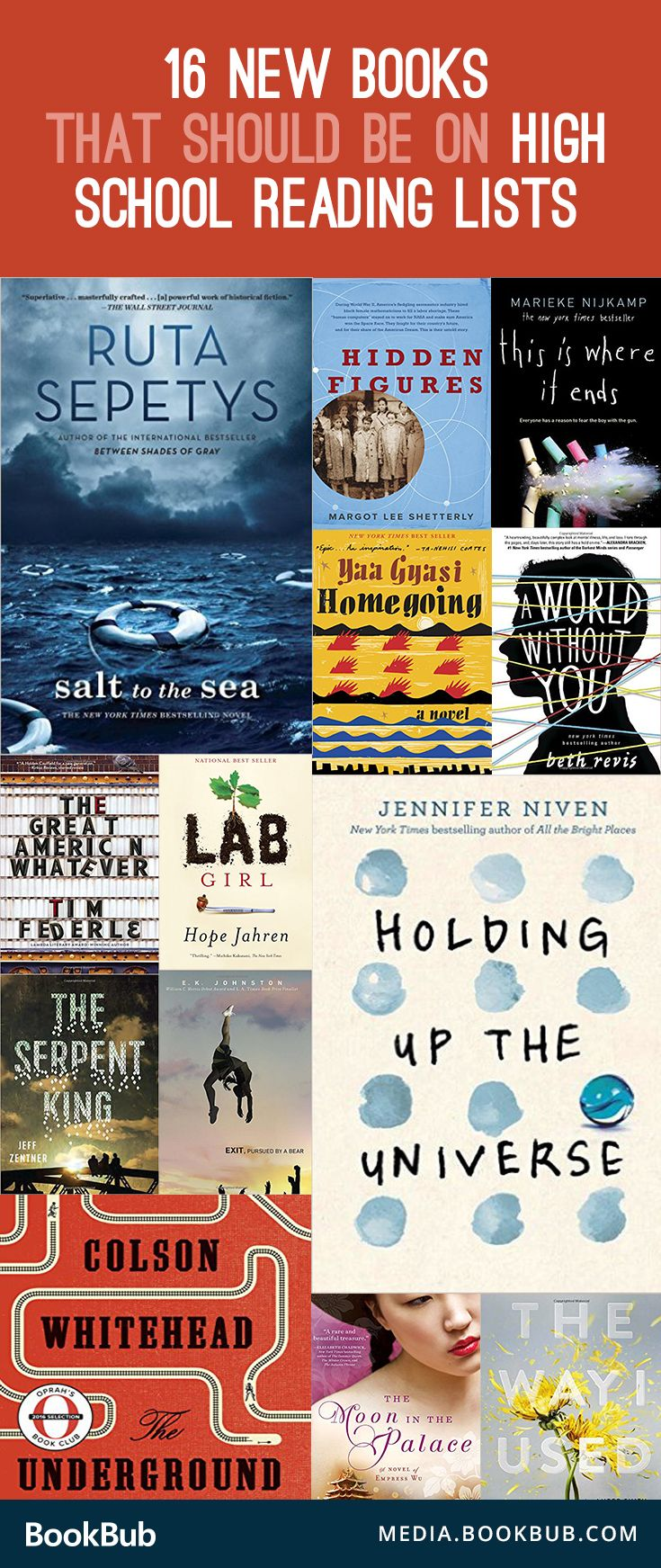 16 Books That Aren T On High School Reading Lists But Should Be
